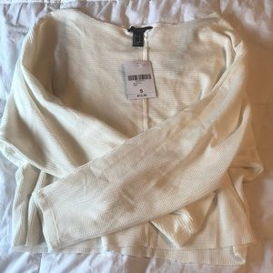 Forever 21 raw-cut top